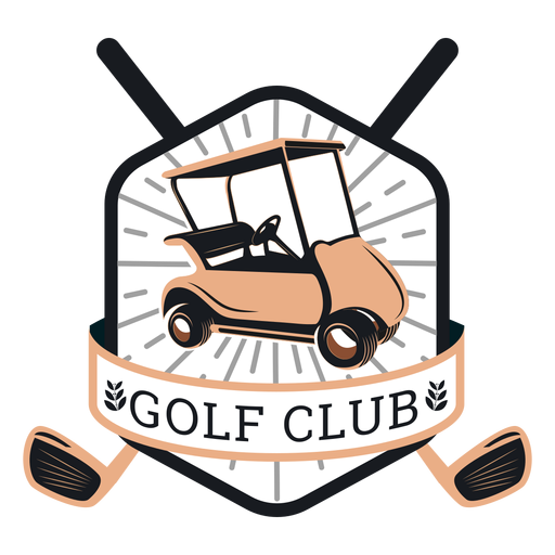 Club de golf carrito de golf volante volante club sucursal logotipo Transparent PNG
