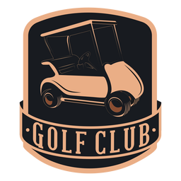 Golf club golf cart wheel steering wheel logo
