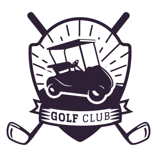 Golf club wheel golf cart club badge sticker