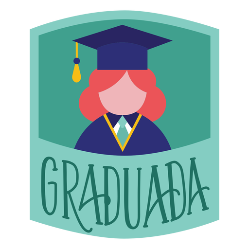 Graduada person academic cap sticker Transparent PNG