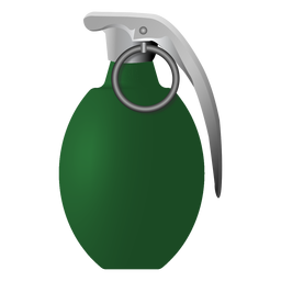 Grenade tab ring illustration