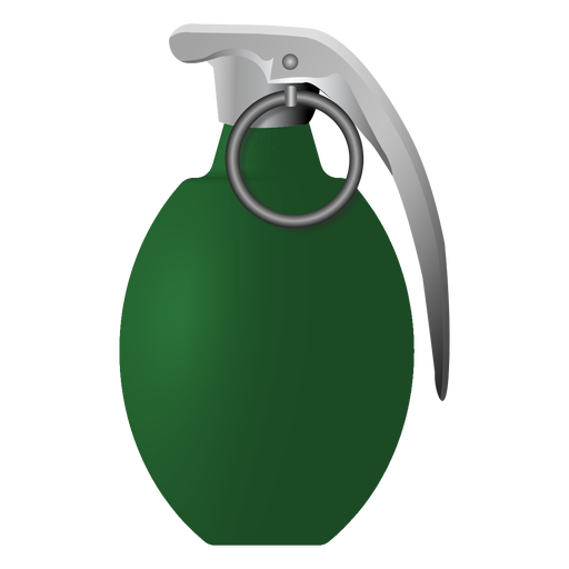 Grenade tab ring illustration Transparent PNG