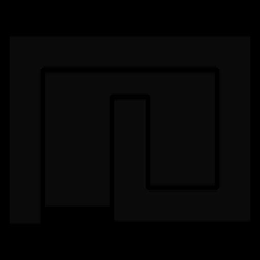 H silhueta detalhada labirinto quintal Transparent PNG