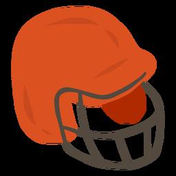 Proteção do capacete plana