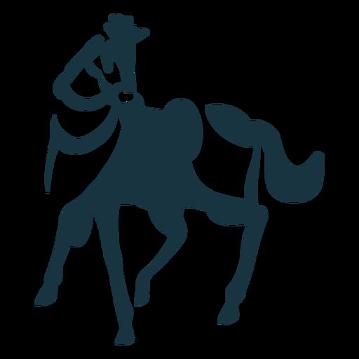 Cavalo rabo casco juba sela silhueta detalhada Transparent PNG