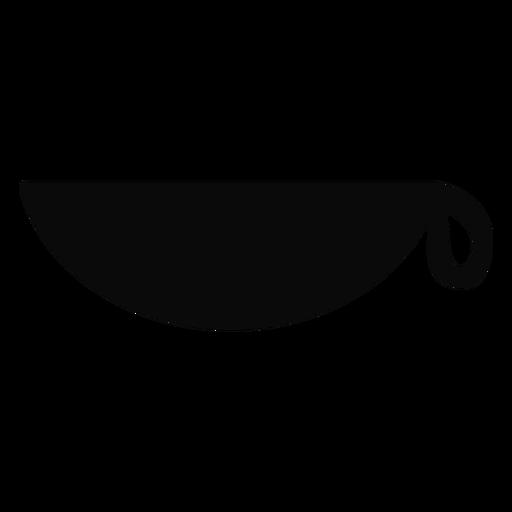 K silhueta de tigela de copo de cesta Transparent PNG