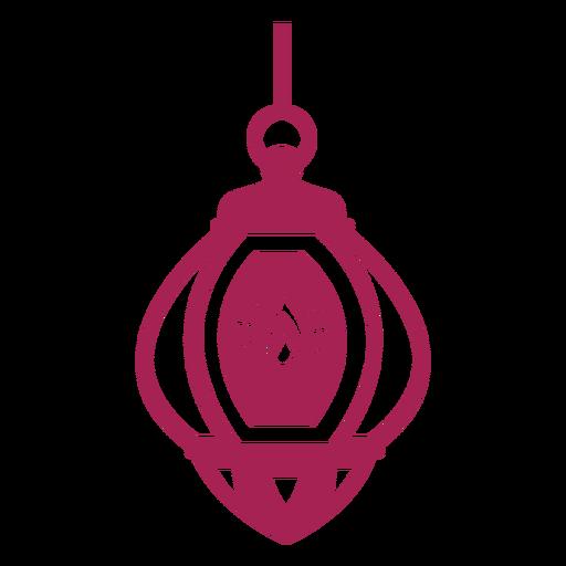 Lámpara de fuego icono lámpara silueta detallada Transparent PNG
