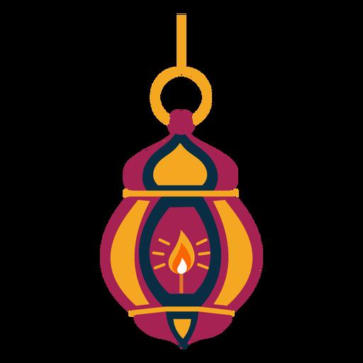 Lâmpada de fogo de lâmpada de ícone plana Transparent PNG