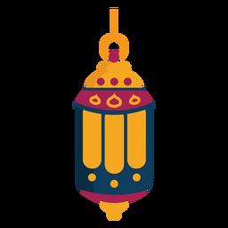 Lampensymbol Lampenring flach