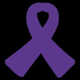 Loop tape ribbon scarf silhouette