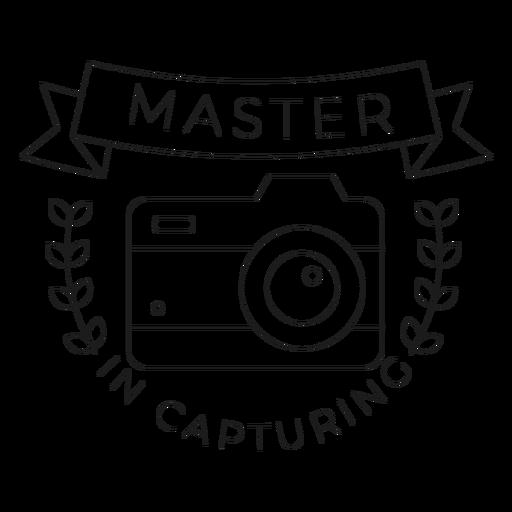 Mestre em capturar a linha do crachá do objetivo da lente da câmera Transparent PNG