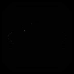 Silhueta detalhada quadrada do círculo do quadro do mosaico