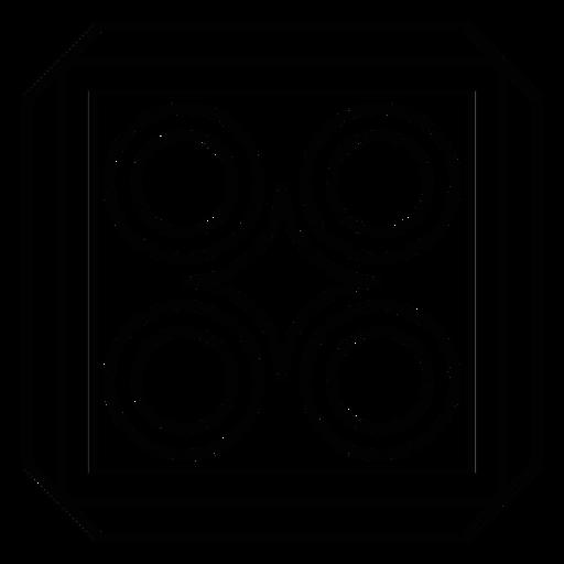 Mosaico rombo marco círculo trazo cuadrado Transparent PNG