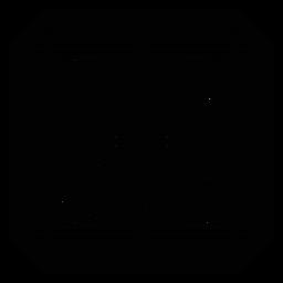 Mosaik quadratische Raute detaillierte Silhouette