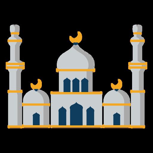 Mezquita torre cúpula media luna plana Transparent PNG