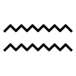 N gota de agua ola par simetría silueta