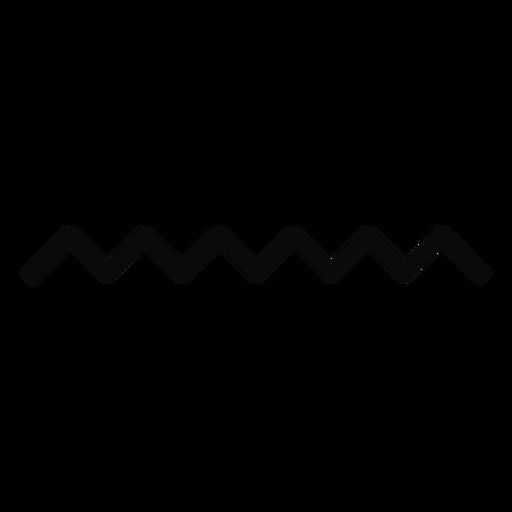 Silhueta de onda de gota de água n Transparent PNG