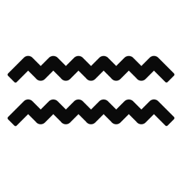 Silhueta de simetria de par de onda de água n gota