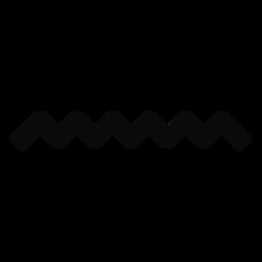 Silhueta de queda de onda de água n Transparent PNG