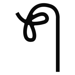 O u-Knoten-Niederlassungs-Lasso-Stammschattenbild