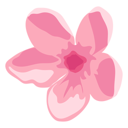 Orchid flower bud petal flat