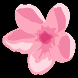 Pétala de flor de orquídea pétala plana