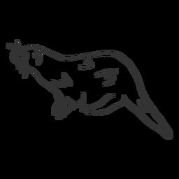 Doodle de pieles de nutria