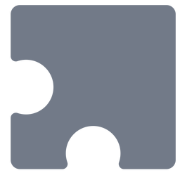 Pieza detalle rompecabezas silueta