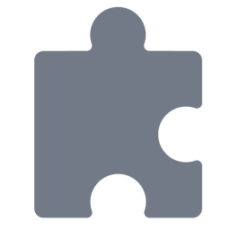 Stück Puzzle Detail Silhouette
