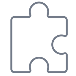 Stück Puzzle Detail Strich