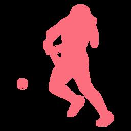 Jugador pelota beisbolista jugador pelota silueta