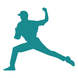 Jogador de bola de beisebol jogador de beisebol silhueta