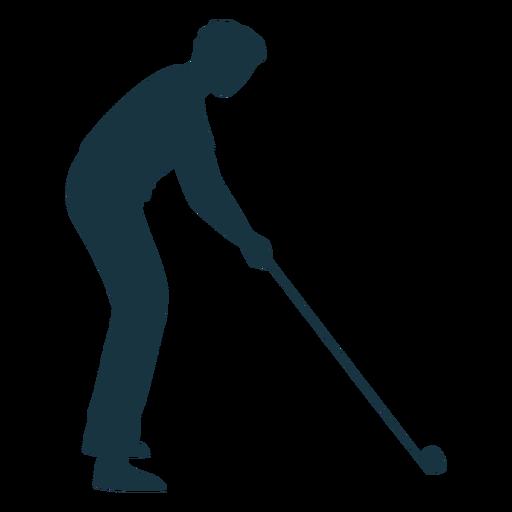 Player ball club t shirt trousers silhouette