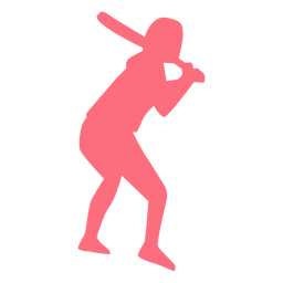 Player ballplayer bat baseball player silhouette