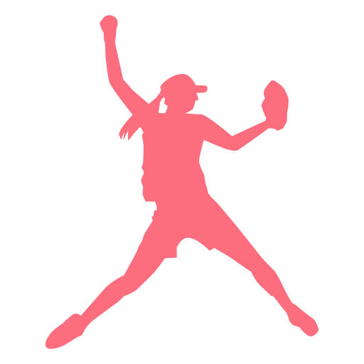 Jugador jugador de béisbol guante gorra jugador de béisbol silueta Transparent PNG