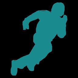 Jugador jugador de béisbol jugador de pelota corriendo silueta