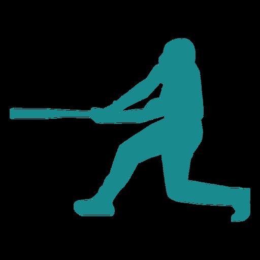 Jugador de beisbol jugador bate jugador de pelota silueta Transparent PNG