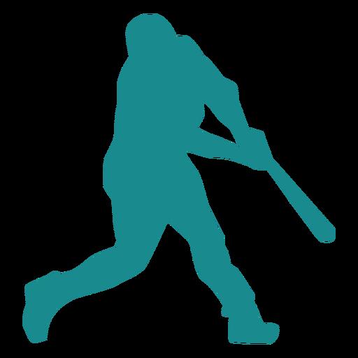 Jugador de beisbol jugador de bateo jugador de pelota silueta beisbol Transparent PNG