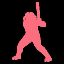 Jogador, morcego, capacete, jogador baseball, ballplayer, silueta