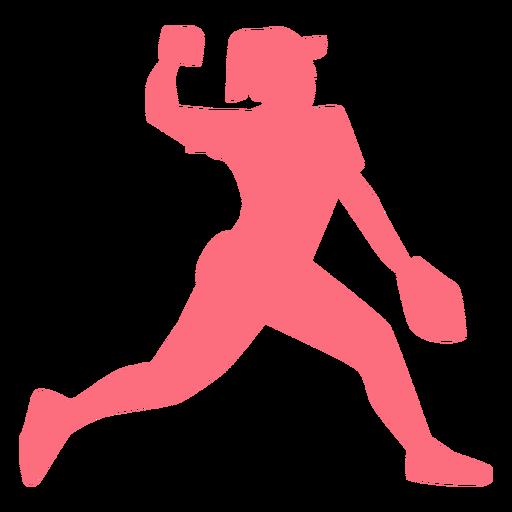 Jugador gorra bola guante jugador de béisbol jugador de pelota silueta Transparent PNG