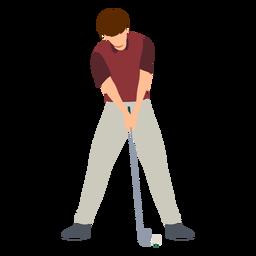 T-shirt do clube do jogador com as calças rasas