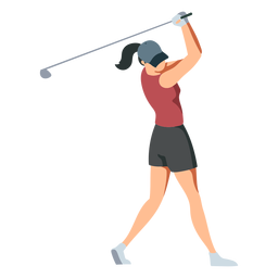Jugador femenino club pantalones cortos camiseta gorro de pelo cola de caballo plana