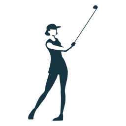 Jogador feminino touca de cabelo saia camiseta clube silhueta detalhada