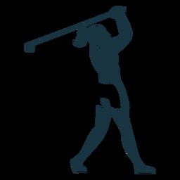 Jugador de pelo femenino gorra falda camiseta club cola de caballo silueta detallada