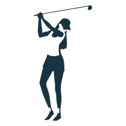 Jugador mujer pelo club tapa pantalones cortos camiseta detallada silueta