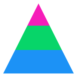 Listra triangular polysexual plana