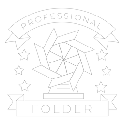Carpeta profesional molino estrella papel línea insignia