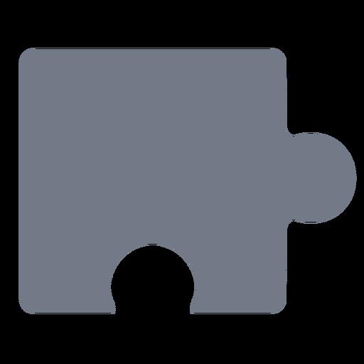 Silueta de pieza de detalle de rompecabezas Transparent PNG