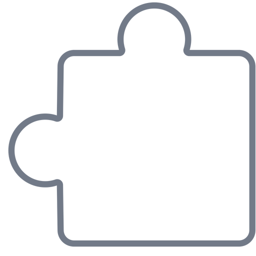 Trazo de detalle de pieza de rompecabezas Transparent PNG
