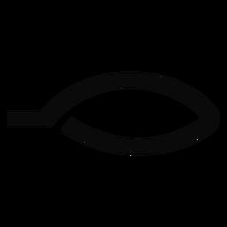 R Mundlippensilhouette
